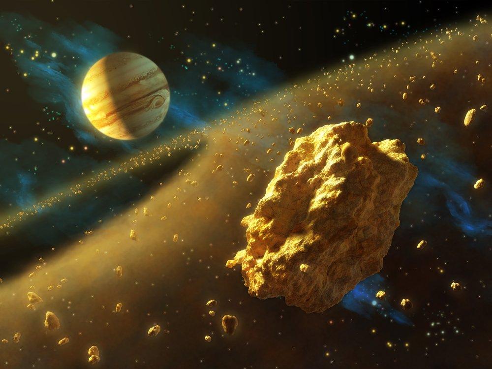 Kết quả hình ảnh cho عن حزام الكويكبات