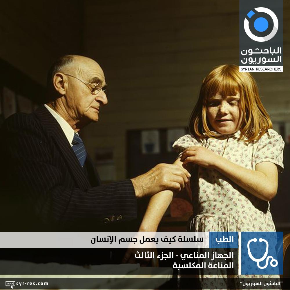 84c329e99be3a المناعة المكتسبة Acquired (Adaptive) Immunity. كيف يعمل جسم الإنسان ؟ Syrian  Researchers ...