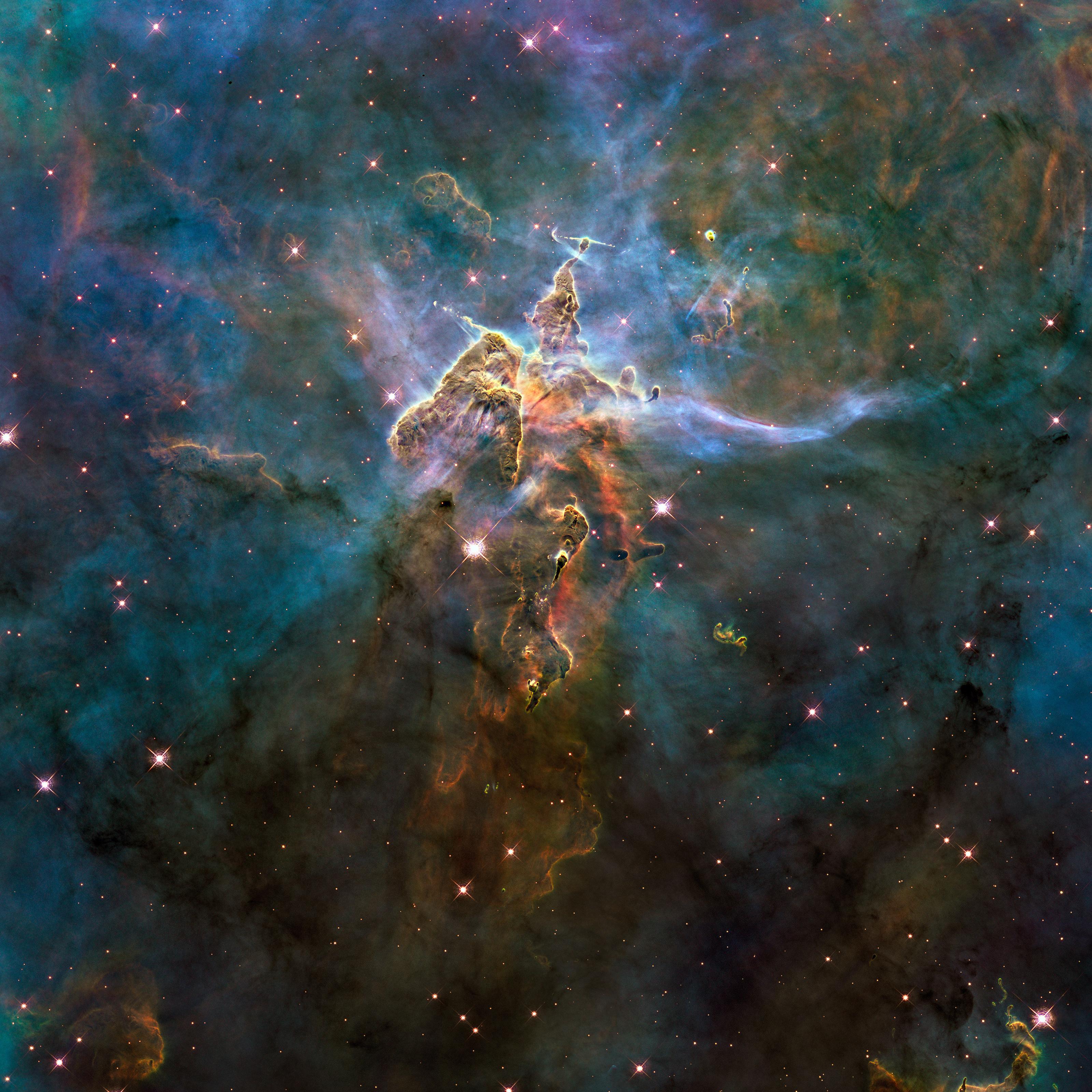 سبحان الله في تلسكوب فضائي....اسمه تلسكوب هابل ما قرأت