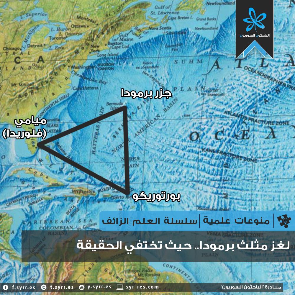 لغز مثلث برمودا.. حيث تختفي الحقيقة !